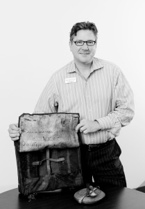 Jeff Byce With Antique