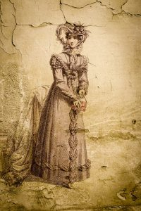 Portrait of Victorian Lady