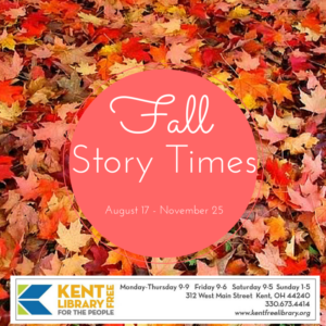Logo for Fall Story Times