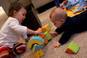 Saturday, March 10 at 11:00 am: Baby and Toddler Play Date