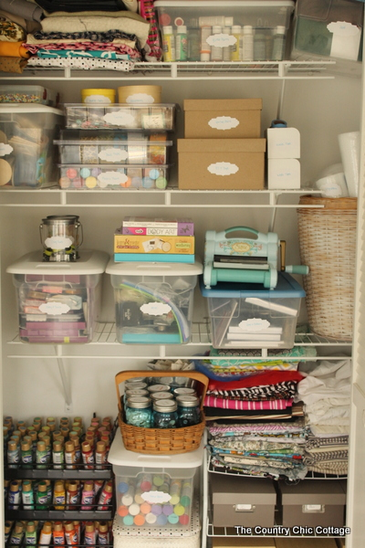 Craft Supply Closet Clean Out Kent Free Library