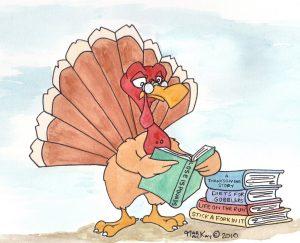 Turkey Reading a book