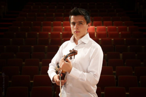 Sunday, February 26 at 2:00 pm: Free Violin Concert with Alejandro Luengas