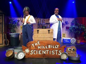 Tuesday, June 27 at 2:00 pm: Hillbilly Silly Science Spectacular