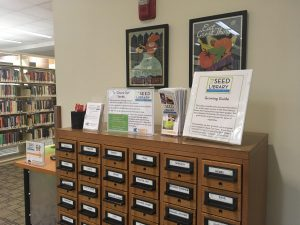 Seed Library card catalog