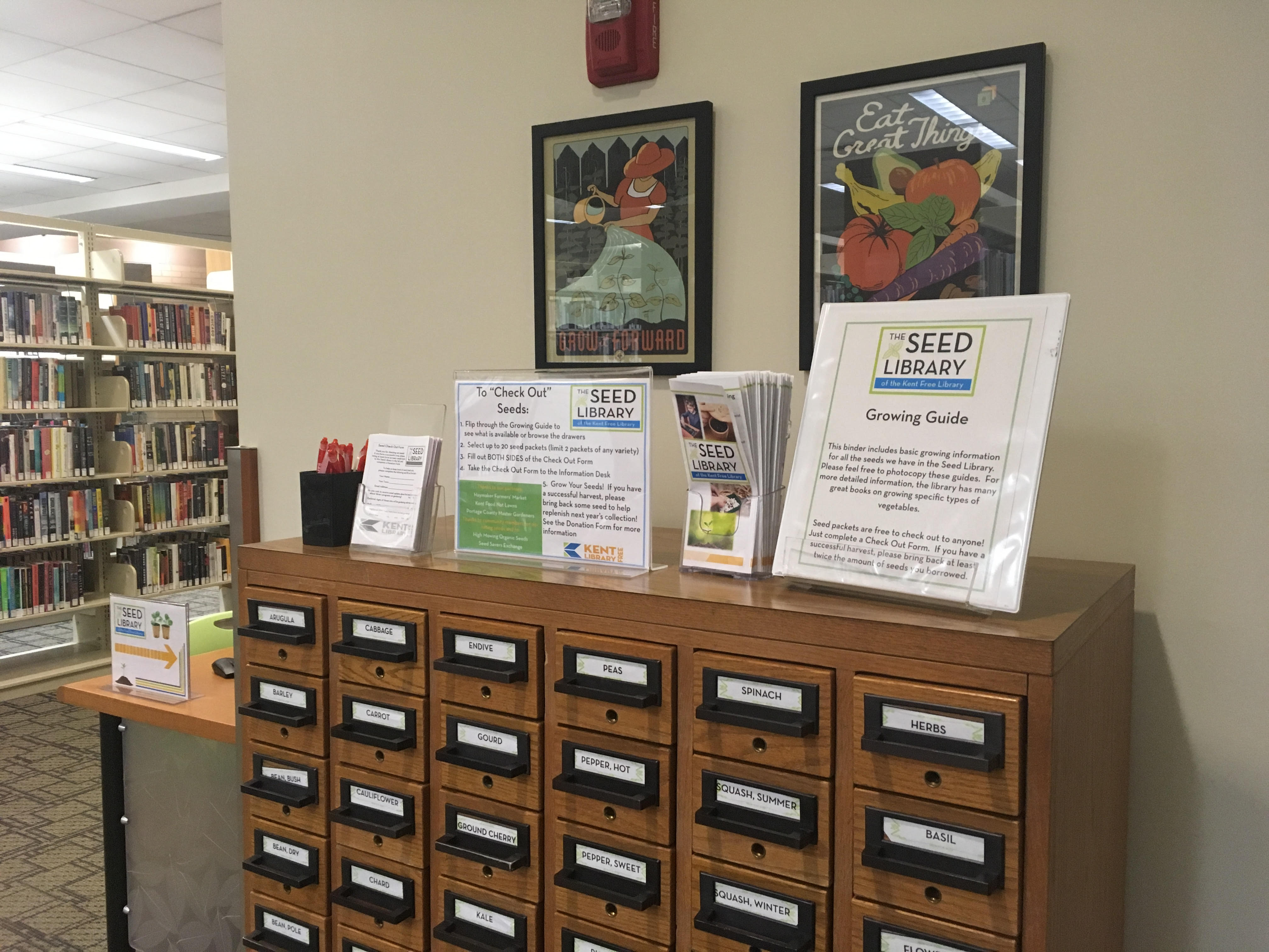 Seed Library Opens