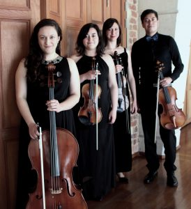 Sunday, October 21 at 2:00 pm: Free Concert with Efferus String Quartet