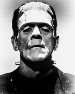 Frankenstein's Creature portrayed by Boris Karloff
