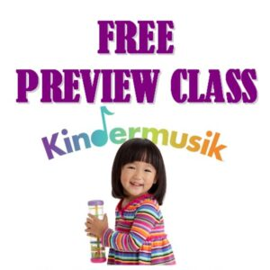 Kindermusik Free Preview Class
