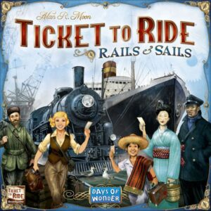 Ticket to Ride Rails and Sails cont