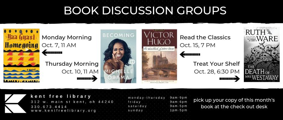 October Book Clubs