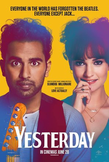 Thursday, November 21 at 7:00 pm: Movie Night--Yesterday